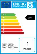 Bunte Miniglobe LED 1W B22 30Lm Gelb