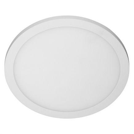 Rama - LED Deckenleuchten IP 65 Ø270x45 14W 3000K 1000lm 120° weiß