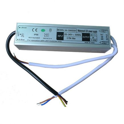 Driver Led 60W 12V DC IP66