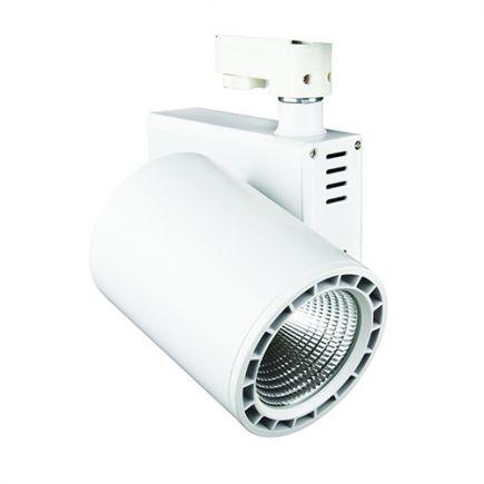 Jacinto - LED Schienenstrahler Ø99 x 148 35W 4000K 3150lm 36° weiß