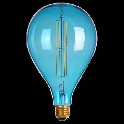 Ampoule bleue 160*265 - Filament LED-7W-E27-3500K-400lm-Dim