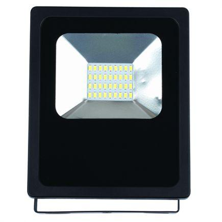 Isonoe - EcoWatts -LED Projektor-Leuchte IP 65 143x48x182 20W 3000K 1600lm 120° schwarz