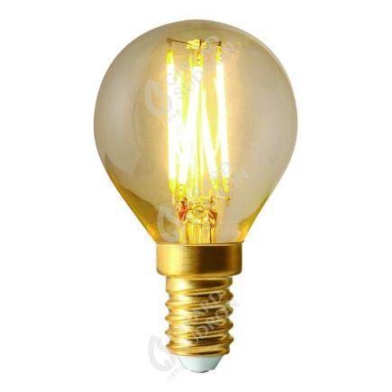 Kugelformen G45 Leuchtfaden LED 4W E14 4000K 350Lm Dim. Kl.