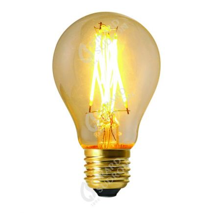Standard A60 Leuchtfaden LED 8W E27 4000K 900Lm Dim. Kl.