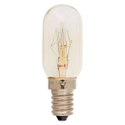 Röhrenlampen für Nähmaschine 25W E14 2750K 130 Dim. Kl.