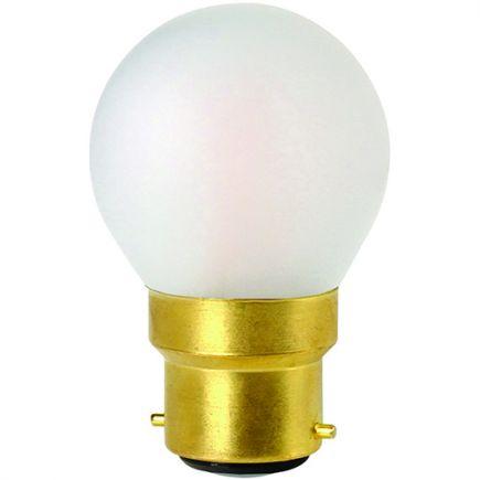 Kugelformen G45 Leuchtfaden LED 4W B22 2700K 330Lm Dim. Mat