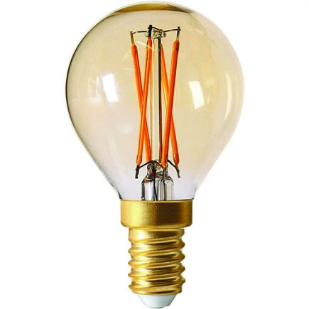 Kugelformen G45 Leuchtfaden LED 4W E14 2200K 260Lm Dim. Berns.