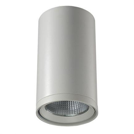 Pandore - LED-Aufbaudownlight Ø85x150 10W 3000K 800lm 20° weiß