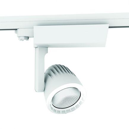 Sassa - LED Schienenstrahler Ø110x237 40W 3000K 3400lm 36° weiß