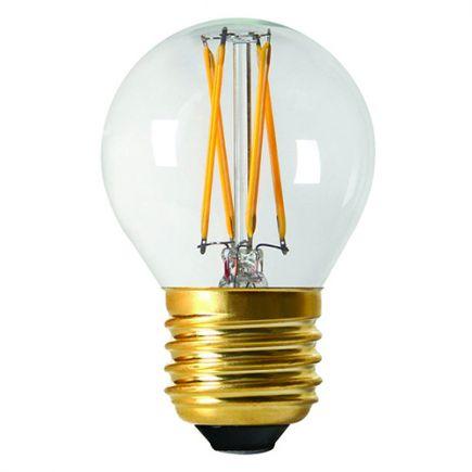 Kugelformen G45 Leuchtfaden LED 4W E27 2700K 350Lm Dim. Cl