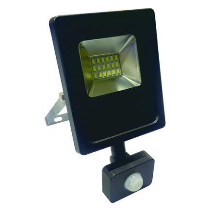 Isonoe - EcoWatts -LED Projektor-Leuchte IP 65 115x41x138 10W 3000K 800lm 120° schwarz