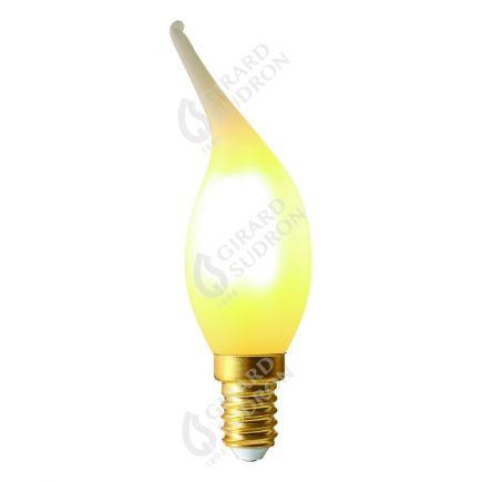 Flammen CV4 Leuchtfaden LED 4W E14 2700K 300Lm Dim. Mat