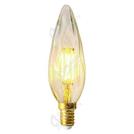 Flammen GS8 Leuchtfaden LED 4W E14 2700K 320Lm Dim. Kl.