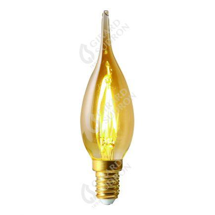 Flammen GS4 Leuchtfaden LED 2W E14 2500K 200Lm Berns..