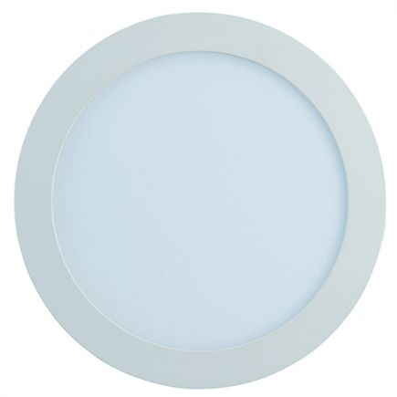 Kili - LED Downlight Ø225x25 ein.Ø207 18W 3000K 1260lm 110° weiß