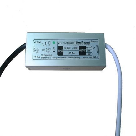 Driver Led 30W 12V DC IP66