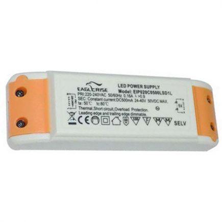 Treiber mit dimmer für LED Downlight 132x45x24 18W weiß Dim