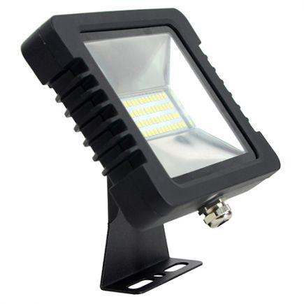 Yonna - LED Projektor-Leuchte IP 65 250x188x51 50W 4000K 3800lm 110° schwarz