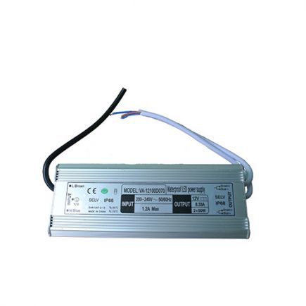 Driver Led 100W 12V DC IP67