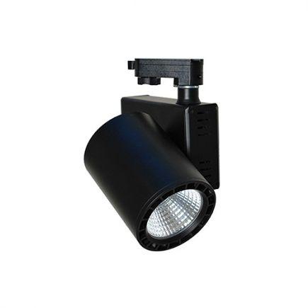 Jacinto - LED Schienenstrahler Ø99 x 148 20W 4000K 1800lm 36 schwarz