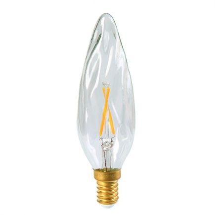 ***PRIX DESTOCKAGE*** Flamme GS8 Fil.Led 3W 240V E14 2700K Cl