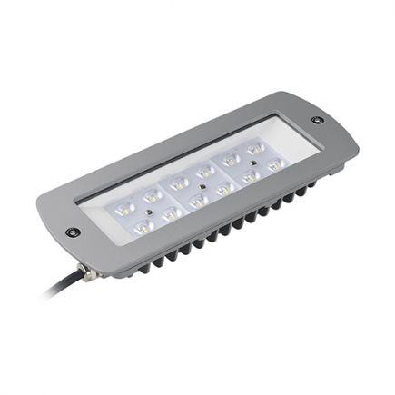 Sponde - LED Modul 261x102x45 60W 3000K 6025lm 120° silber
