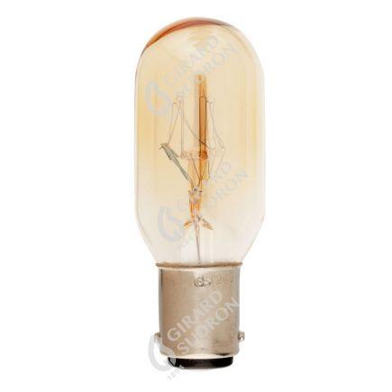 Röhrenlampen für Nähmaschine 25W B15 2750K 130 Dim. Kl.