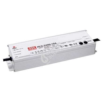 Driver AC/DC 240W Max. IP67 24V 10A Dimmable 3en1