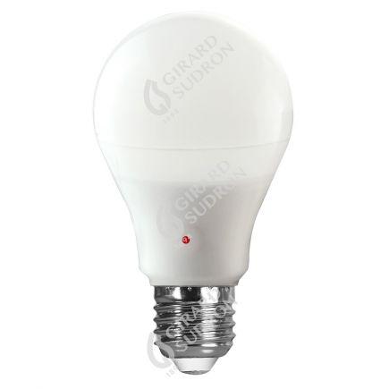 Standard A65 LED 330° 12W E27 2700K 1000Lm Capteur Crépusculaire