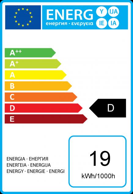 Flammen C35 Öko-Halogen 19W E14 2750K 219Lm Dim. Kl.