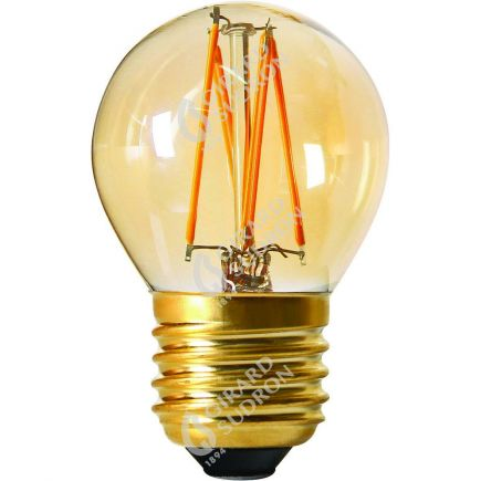 Kugelformen G45 Leuchtfaden LED 4W E27 2200K 260Lm Dim. Berns..
