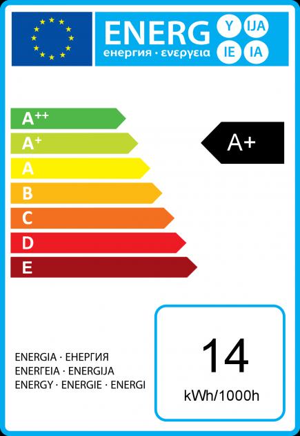 Standard A72 LED 330° 14W E27 2700K 1250Lm Dim. Undurchsichtig