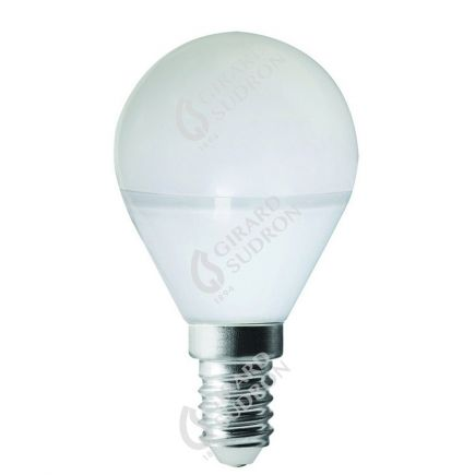 Miniglobe G45 LED 330° 5W E14 2700K 400Lm Dim.Undurchsichtig