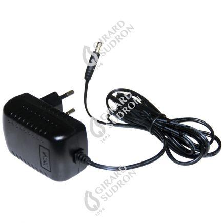 Ladegerät für Steckdose eur pour projecteur LED portatif schwarz