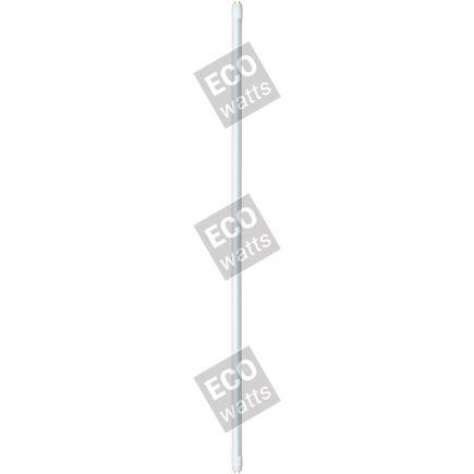 EcoWatts - Röhre LED T8 G13 150cm 25W 4000K 2000Lm kompatibel mit Ferro-magnetischem Verstellbar