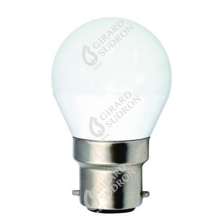 Miniglobe G45 LED 330° 5W B22 2700K 400Lm Dim. Undurchsichtig