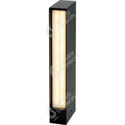 Rise - LED Pollerleuchten P65 50x100x450 15W 4000K 820lm 135° schwarz