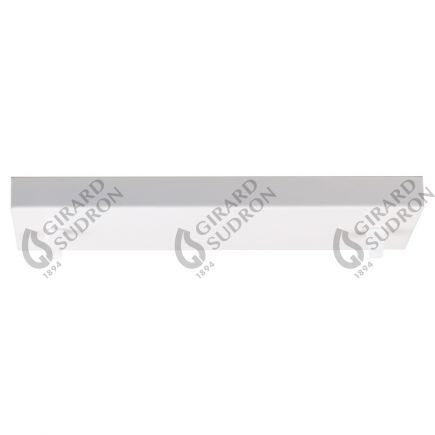 Square ceiling_2 holes_300x95x25mm_white