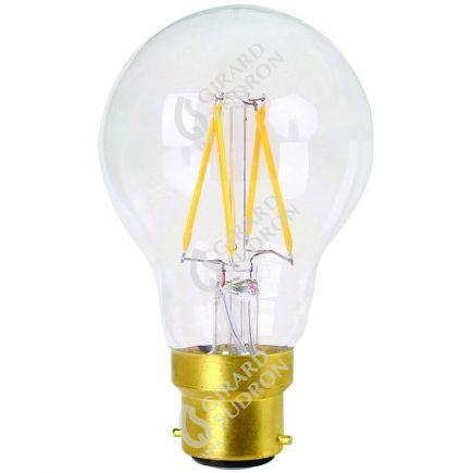 Standard A60 Leuchtfaden LED 8W B22 2700K 806Lm Dim. Kl.
