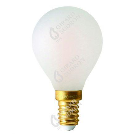 Kugelformen G45 Leuchtfaden LED 4W E14 2700K 300Lm Dim. Mat