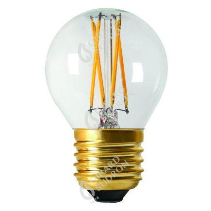 Kugelformen G45 Leuchtfaden LED 4W E27 4000K 380Lm Dim. Kl.
