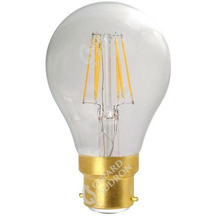 Standard A70 Leuchtfaden LED 8W B22 2700K 1055Lm Kl.
