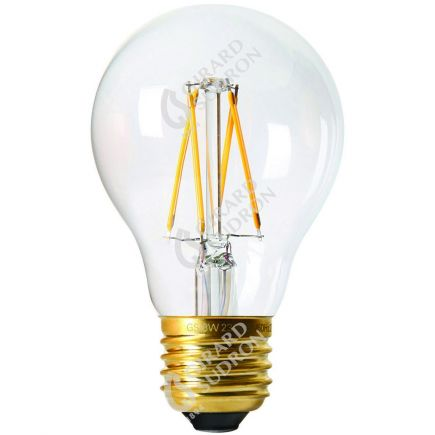 Standard A60 Filament LED 6W E27 4000K 850lm Cl.