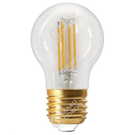 Sphérique G45 Filament LED 6W E27 2700K 806lm Dim. Clear