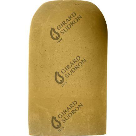 Douille E27 béton ø52mm H.82mm jaune ocre