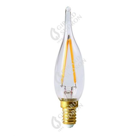 Candle GS1 Filament LED 1W E12 2700K 100Lm Cl.