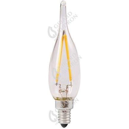Flammen GS1 Leuchtfaden LED 1W E10 2700K 100Lm Kl.