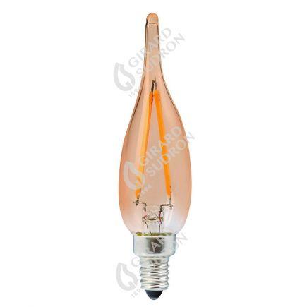 Flammen GS1 Leuchtfaden LED 1W E10 2500K 80Lm Berns..