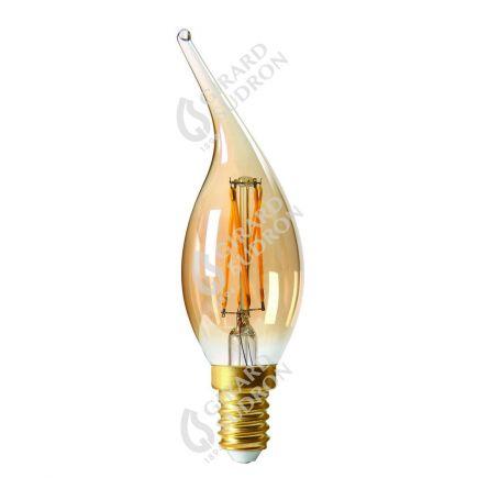 Flammen CV4 Leuchtfaden LED 4W E14 2700K 280Lm Dim. Berns..
