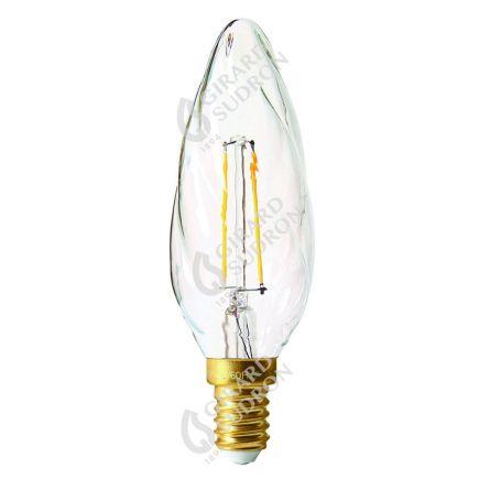 Flammen F6 Leuchtfaden LED 2W E14 2700K 220Lm Kl.